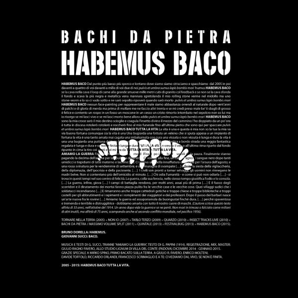 Habemus Baco